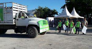 Gobierno municipal apoya tareas de descacharrización en Benito Juárez