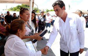 Encabeza Remberto Estrada homenaje póstumo a Policía 3° Rubén Lara Sánchez