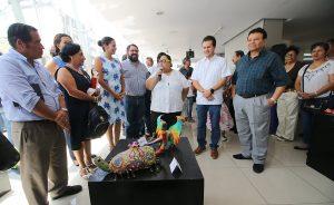 """Exponen """"Fantasías, sueños de Alebrijes"""", en el Centro Cultural Villahermosa"""