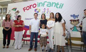 """Infantes de Centro se expresan en 2º Foro de los Niños """"Conociendo mis Derechos y Deberes"""""""