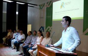 Refrenda Remberto Estrada gobierno transparente y de resultados, Observatorio Ciudadano en Cancún