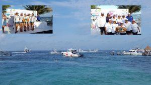 Se realiza con éxito el Primer Torneo Internacional de Pesca Deportiva Femenil en Puerto Morelos