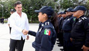 Remberto Estrada fortalece la seguridad en Benito Juárez