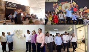 Inaugura Núñez infraestructura en la UJAT y el Quinto Festival del Queso en Tenosique