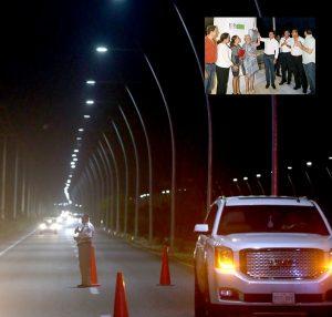 Una ciudad iluminada garantiza seguridad: Remberto Estrada Barba