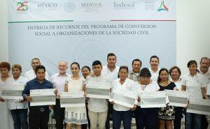4 MDP para acciones contra vulnerabilidad social en Campeche: SEDESOL