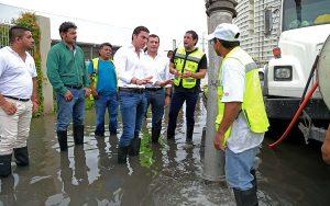 """Atiende Ayuntamiento de Benito Juárez contingencia climatológica por """"Harvey"""""""
