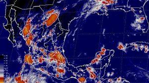 Se prevén tormentas muy fuertes en 11 estados de la República Mexicana