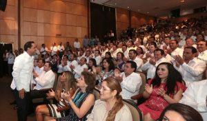 El alcalde Mauricio Vila convoca al trabajo unido para el desarrollo de Mérida y Yucatán