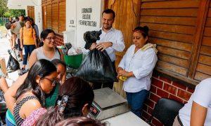 """Impulsan cultura del cuidado al Medio Ambiente con programa: """"Reciclando por la Educación"""""""
