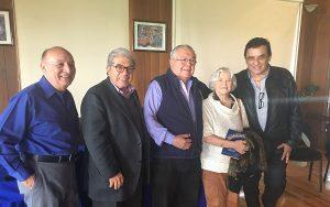 Entregarán la Pluma de Oro a Marcela del Rio, Jorge Esma Bazán y Willebaldo López