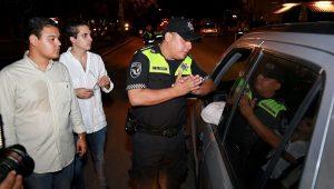 Se suman más visores ciudadanos al programa del Alcoholímetro en Benito Juárez