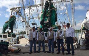 Verifica PROFEPA 170 embarcaciones camaroneras uso correcto de DET en Tamaulipas