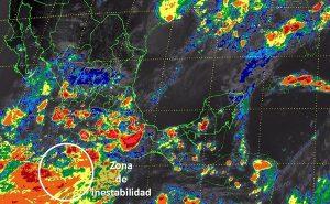 CDMX y Estado de México se estiman tormentas muy fuertes