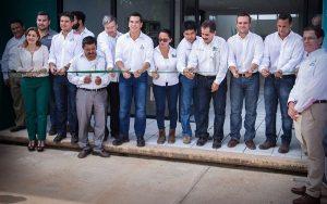 Pone en servicio Moreno Cárdenas infraestructura educativa por 23.8 MDP en el IT China