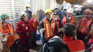 Apoya Alejandro Moreno Cárdenas limpieza y remoción de escombros en la Ciudad de México