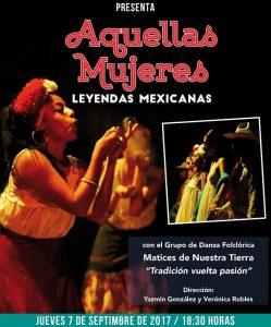 """Se presentara el montaje dancístico """"Aquellas Mujeres"""" en la casa de Tabasco en México"""