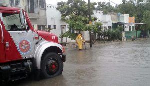 Atiende gobierno de Benito Juárez a la ciudadanía ante las lluvias