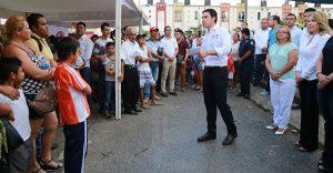 El trabajo social es fundamental para una mejor sociedad: Remberto Estrada