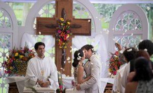 Graban boda para la telenovela «Mi marido tiene familia»