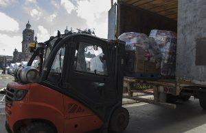 Envía GCDMX 32.5 toneladas de víveres para damnificados de Chiapas, Oaxaca y Tabasco