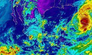 En Veracruz, Oaxaca, Chiapas, Tabasco, Nayarit y Jalisco, se prevén tormentas muy fuertes