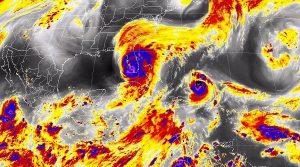 Vientos con rachas mayores a 60 km/h se prevén en el Istmo y el Golfo de Tehuantepec