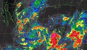 Se prevén tormentas de intensas a torrenciales en 12 entidades de la República Mexicana