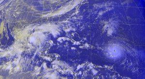 Lluvias en varias zonas de México, por lo que se prevén tormentas intensas en 11 entidades