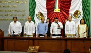 Inicia Congreso de Tabasco, segundo periodo de sesiones del segundo año de ejercicio Constitucional