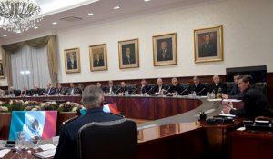 Se reúne Peña Nieto con su Gabinete por sismo