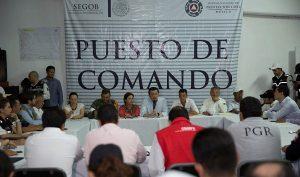 Evalúan avance de trabajos en comunidades afectadas por sismo en Oaxaca