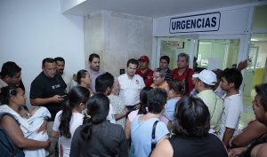 Encabezó Gaudiano revisión de infraestructura tras el sismo, sin mayores daños en Centro