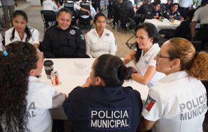 Puerto Morelos dio un gran paso en Seguridad Publica: Laura Fernández