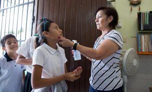 Se protege a estudiantes de la conjuntivitis en Yucatán