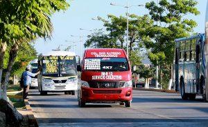 Unidades de transporte público serán verificadas a partir de octubre próximo
