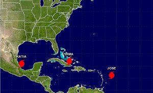 """Se fortalece """"José» a huracán categoría 4"""