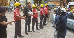 Participan tabasqueños en labores de rescate, en Morelos