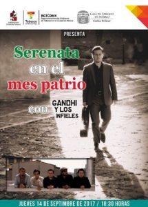 Regresan Gandhi y Los Infieles a la Casa de tabasco en México