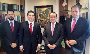 Gestiona Alejandro Moreno Cárdenas recursos ante director del IMSS