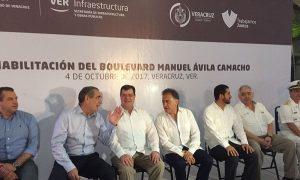 """Inversión de 150 mdp en la remodelación del bulevar """"Ávila Camacho"""": Yunes Linares"""