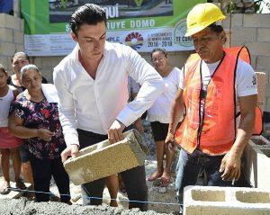 En un año, más obra que nunca en Benito Juárez: Remberto Estrada Barba