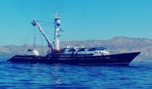 Asegura PROFEPA Barco Atunero por pescar en ANP reserva de la Biosfera el Vizcaíno