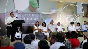 Campesinos ya cuentan con Escudo Ejidal en Yucatán