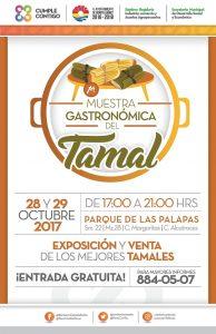 Invita Ayuntamiento de Benito Juárez a la primera muestra gastronómica del Tamal