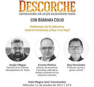 Tercia de expertos disertará en Yucatán sobre el panorama de la industria teatral mexicana