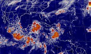 Se prevén tormentas intensas en Veracruz, Oaxaca, Chiapas, Tabasco, Yucatán y Quintana Roo