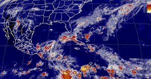 Se prevén tormentas intensas en Veracruz, Tabasco y Chiapas