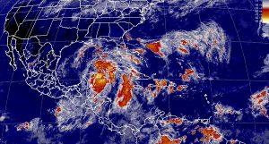 Nate originará tormentas intensas en Yucatán y Quintana Roo, muy fuertes en Campeche