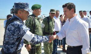 Gobierno federal no dejará solos a damnificados: Enrique Peña Nieto
